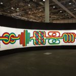 Julio Le Parc: La longue marche, 1974. Installation view @ Art Basel Unlimited 2017