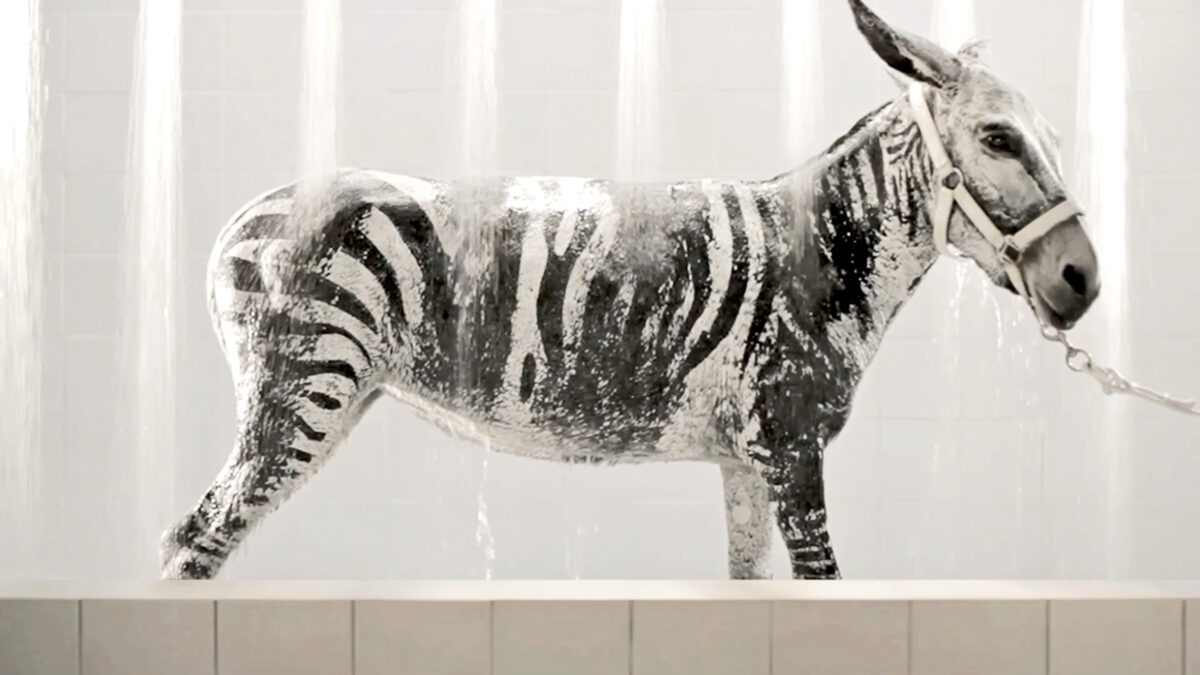 Sharif Waked, Bath Time, 2012. Video, 00:02:13 min, 16:9, color, sound.